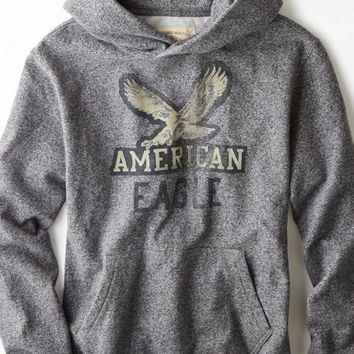 AEO Menx27s Vintage Graphic Hooded Pop Over