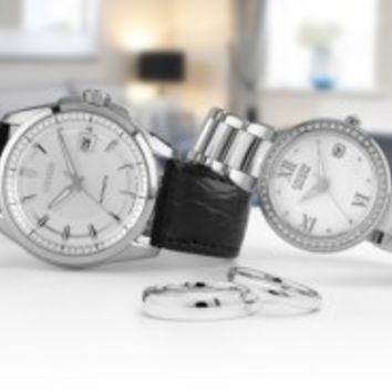 Citizen Signature Wedding Watches at Elegant Jewelers