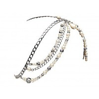 GATSBY PEARLISED CHAIN HEADPIECE