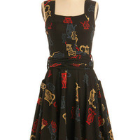 Pitcher of Perfection Dress | Mod Retro Vintage Printed Dresses | ModCloth.com
