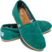 Green Cord Women&#x27;s Classics