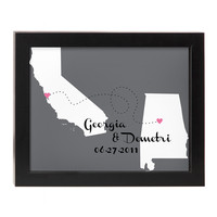 LOVE WILL FIND A WAY PERSONALIZED WALL ART