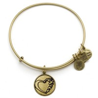 Whole Heart Charm Bangle