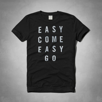 Easy Come Easy Go Graphic Tee