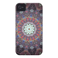 Vintage glass mandala iphone cases iphone 4 cases from Zazzle.com
