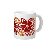 Malgache Collection Tribal Delirium Jumbo Mug from Zazzle.com