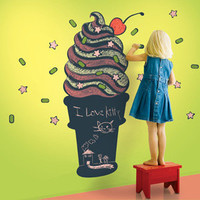WallCandy - Ice Cream Chalkboard Decal