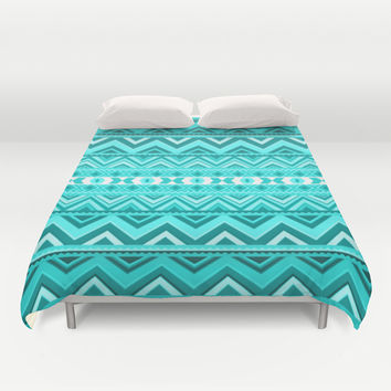 Mint Duvet Cover by Ornaart