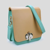Apricot Green Vintage Shoulder Bag$37.00