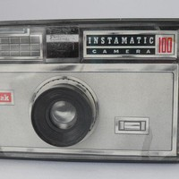 Vintage Kodak Instamatic 100 Camera Advertisement by Flyingace