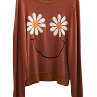 DAISY SMILE at Wildfox Couture in  - DAISY, - BURNT ORANGE