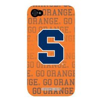 Syracuse Orange Full Design on Verizon iPhone 4 Case by Coveroo: Cell Phones & Accessories