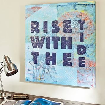 Ride With The Tide Wall Art