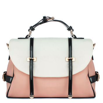 Peach Candy Color Foldover Jelly Bag - Goods - Retro, Indie and Unique Fashion