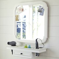 Classic Getting Ready Mirror & Shelf