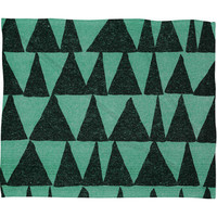 DENY Designs Home Accessories | Nick Nelson Analogous Shapes Fleece Throw Blanket
