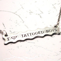 I Love Tattooed Boys Necklace