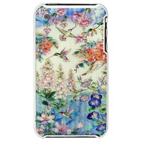HUMMINGBIRD STAINED GLASS iPhone 3G Hard Case WOW! on CafePress.com