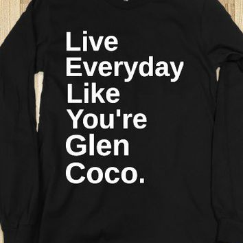 Glen Coco-Unisex Black T-Shirt