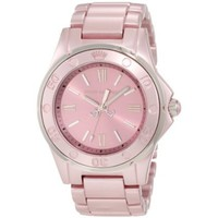 Juicy Couture Women&#x27;s 1900888 RICH GIRL Pale Pink Aluminum Bracelet Watch - designer shoes, handbags, jewelry, watches, and fashion accessories | endless.com