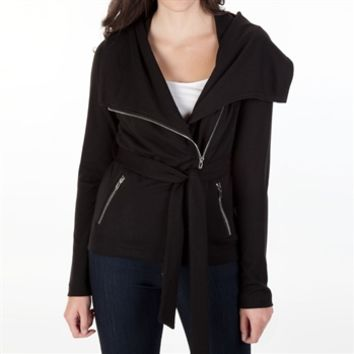 Starling Juniors Asymmetrical Zip Jacket at Von Maur