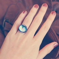 Cat Eye Ring by anatego on Etsy