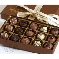 Chocolate Truffle Collection - Gluten Free, Milk Free, Nut Free - 15 Pieces: Amazon.com: Grocery & Gourmet Food