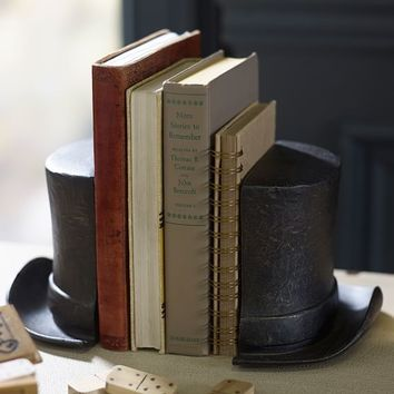 The Emily  Meritt Circus Top Hat Bookends