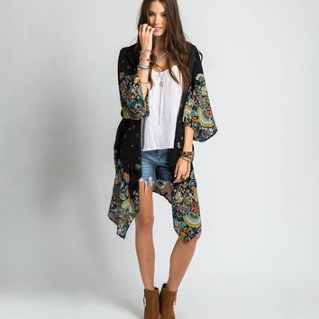 O'Neill LEAH DUNCAN SAWYER KIMONO TOP from Official US O'Neill Store