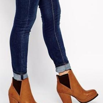 ASOS  ASOS EMPIRE Chelsea Ankle Boots at ASOS