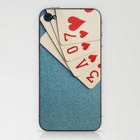 A Full House iPhone &amp; iPod Skin by Skye Zambrana | Society6