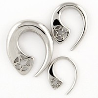 Stainless Steel Star Fin - SteelNavel.com