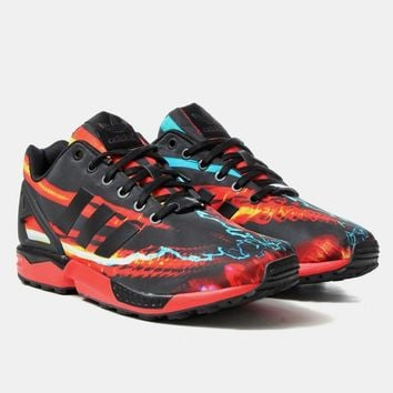 Buy Adidas Originals ZX Flux Shoes  RedCore Black from Urban
