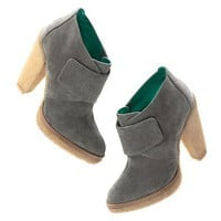 Women's NEW ARRIVALS - shoes & boots - Belle by Sigerson Morrison?- Suede Velcro?- Boots - Madewell