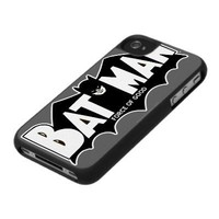 Batman - Force of Good 60s Logo Iphone 4 Cases from Zazzle.com