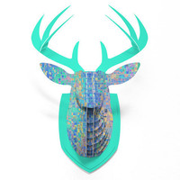 DENY Designs Home Accessories | Lisa Argyropoulos When Oceans Collide Faux Deer Mount