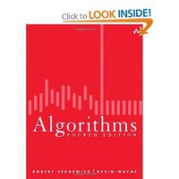 Algorithms (4th Edition) [Hardcover]