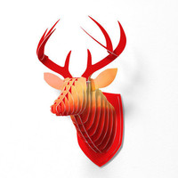 DENY Designs Home Accessories | Lisa Argyropoulos Rhapsody Faux Deer Mount