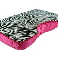 Large Hot Pink Zebra Lap Desk by LapDeskLady on Etsy