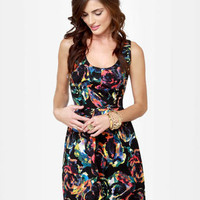 BB Dakota by Jack Aline Print Dress