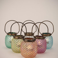 Hobnail Votive Candle Holder