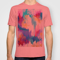 SWEET DREAMS - Lovely Bright Soft Pastel Modern Abstract Fun Nursery Ombre Design Acrylic Painting T-shirt by EbiEmporium | Society6