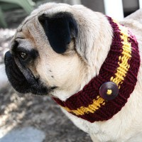 Gryffindor Dog Neck Warmer by jessicalynneart on Etsy