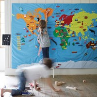 Giant Wall Map  NEW - NEW - Kids