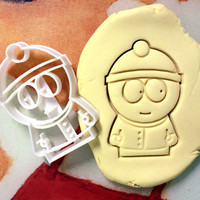 Stan Marsh South Park Cookie Cutter - Made from Biodegradable Material