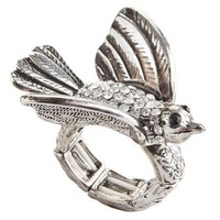 Crystal Bird Ring