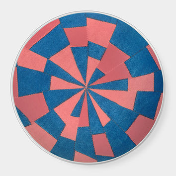 Louise Bourgeois Blue & Pink Pattern Plate