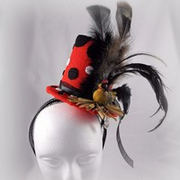 Handcrafted Top Hat Headband - The Hen's Nest -         Be Yourself! ~A Unique Accessory for a Unique You~ | Creative Caboodle