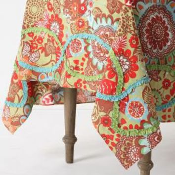 Tahitian Vine Tablecloth - Anthropologie.com