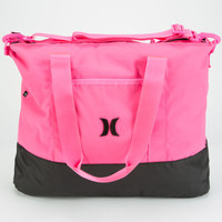Hurley Book Tote Hot Pink One Size For Women 23935135101